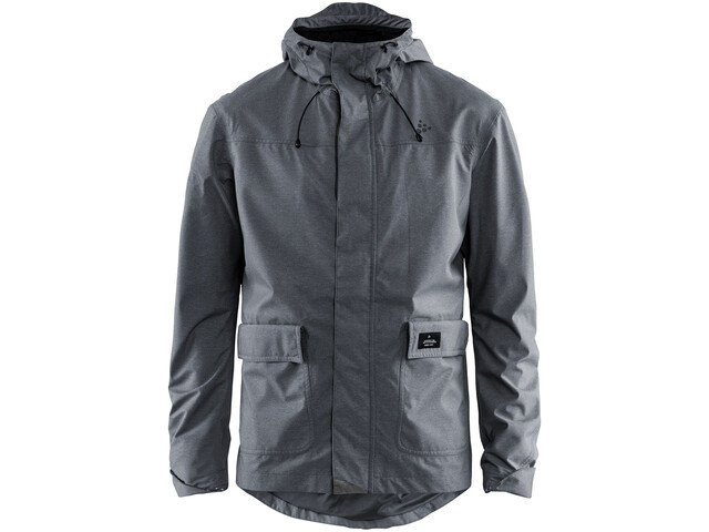 Craft Ride Precip Jacket Herr dark grey melange